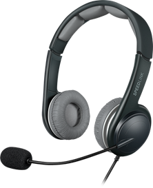 SPEEDLINK Sonid USB Stereo Headset with Microphone (Black/Grey)