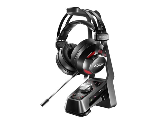 Bundle: ADATA XPG EMIX H30 Gaming Headset (Black/Red) with XPG SOLOX F30 Amplifier (Black)