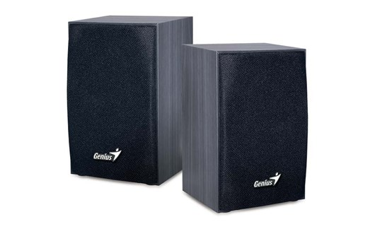 Genius SP-HF160 Speakers (Black Wood)