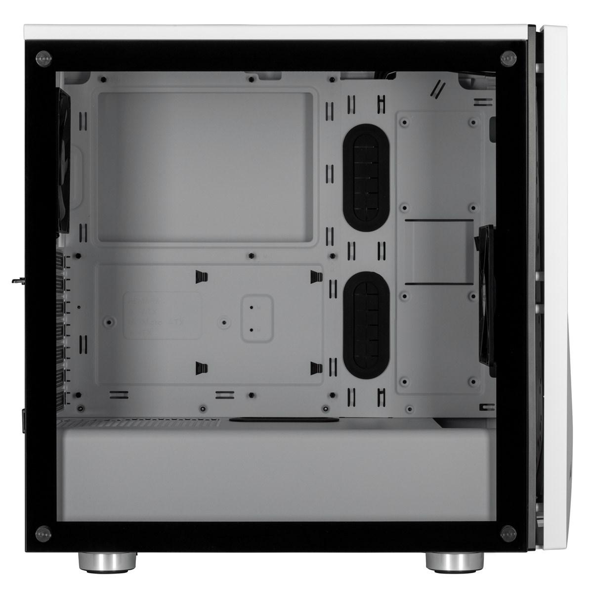 quality design aca00 2cb67 Corsair Carbide SPEC-06 RGB Mid Tower Gaming Case - White USB 3.0