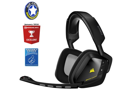 Corsair Gaming VOID Wireless RGB Dolby 7.1 Gaming Headset (Black)