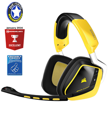 Corsair VOID (Special Edition) Wireless Dolby 7.1 Gaming Headset (Yellow)
