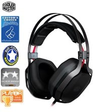 Cooler Master MasterPulse PC and Smartphone Gaming Over Ear Head Set with Bass FX  *Open Box*