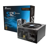 Seasonic S12II-520 Bronze Silent 520W Power Supply 80 Plus Bronze