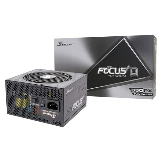 Seasonic Focus Plus 650W Modular 80+ Platinum PSU