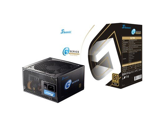 Seasonic G-750 750W Semi-Modular 80+ Gold PSU