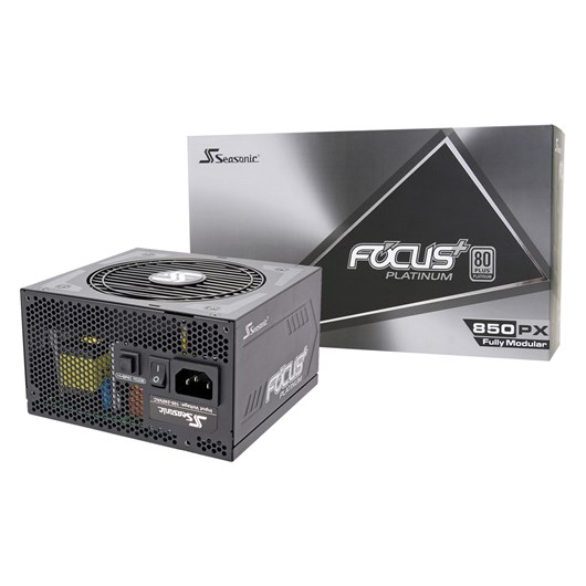 Seasonic Focus Plus 850W Modular 80+ Platinum PSU