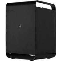 Silverstone Case Storage CS01 ITX Case - Black USB 3.0