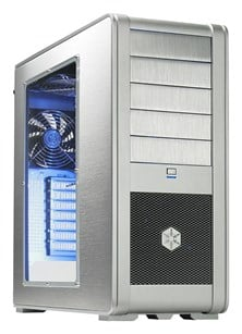 Silverstone Fortress FT01 Silver Midi Tower Case