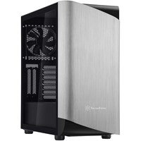 Silverstone SETA A1 Mid Tower Gaming Case - Silver USB 3.0