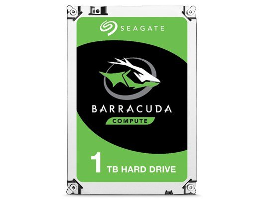 Seagate BarraCuda (1TB) 3.5 Inch SATA Internal Hard Disk Drive *Open Box*