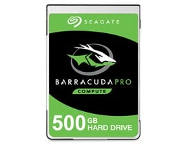"Seagate BarraCuda Pro 500GB SATA III 2.5"" HDD"
