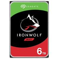 Seagate IronWolf 6TB SATA III 3.5 Hard Drive - 5400RPM, 256MB
