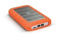 LaCie Rugged Triple 2TB Mobile External Hard Drive in Orange