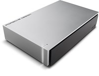 LaCie Porsche Design 4TB Desktop External Hard Drive in Silver