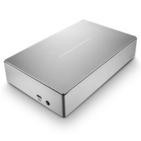 Seagate Porsche Design 4TB Desktop External Hard Drive in Silver