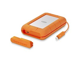 LaCie 4TB Rugged USB3.0 Thunderbolt External HDD