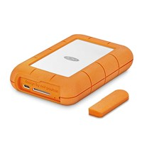 LaCie Rugged RAID Pro 4TB Desktop External Hard Drive in Orange