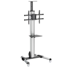 StarTech.com TV Mobile Cart Stand STNDMTV70 With Height Adjustment (For 32inch -70inch Televisions)