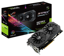 ASUS GeForce GTX 1050 Ti Strix 4GB Graphics Card