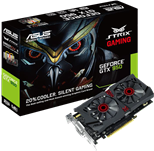 Asus STRIX GTX950-DC2-2GD5-GAMING (2GB) Graphics Card GeForce GTX 950 PCI Express 3.0 DisplayPort HDMI DVI-I DVI-D
