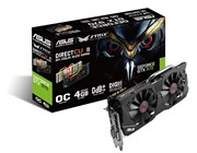 Asus STRIX-GTX970-DC2OC-4GD5 Graphics Card GeForce GTX 970 4GB PCI Express 3.0 DVI HDMI DisplayPort