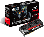 Asus STRIX-R9FURY-DC3-4G-GAMING Graphics Card AMD Radeon R9 FURY 4GB PCI Express 3.0 DVI HDMI DisplayPort