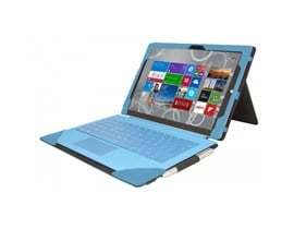 Urban Factory Folio Tablet Case (Turquoise) for Microsoft Surface 3