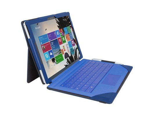 Urban Factory SUR34UF Elegant Folio Protective Case for Microsoft SurfacePro4 (Navy)