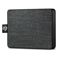 Seagate One Touch 500GB Mobile External Solid State Drive in Black