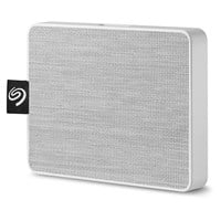 Seagate One Touch 1TB Mobile External Solid State Drive in White