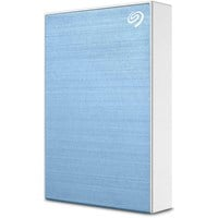 LaCie One Touch 5TB Mobile External Hard Drive in Blue - USB3.0