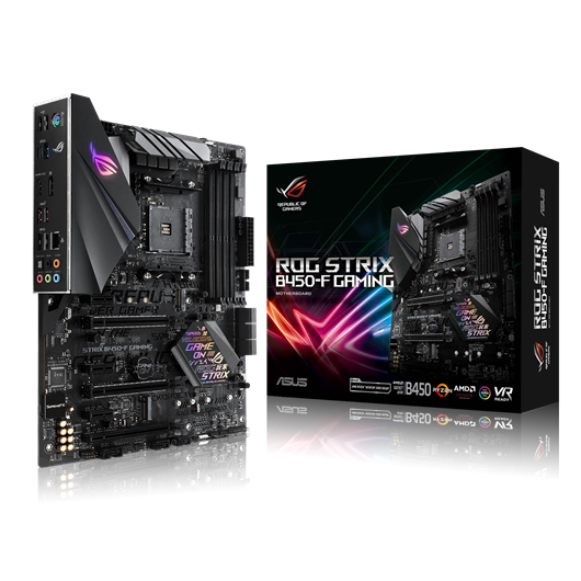 ASUS ROG STRIX B450-F GAMING AMD Socket AM4