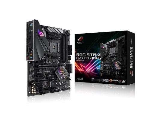 Asus ROG Strix B450-F Gaming AMD AM4 (ATX) Motherboard RAID LAN (AMD Radeon Graphics) *Open Box*