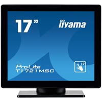 iiyama ProLite T1721MSC-B1 17 inch LED Touchscreen Monitor, 5ms