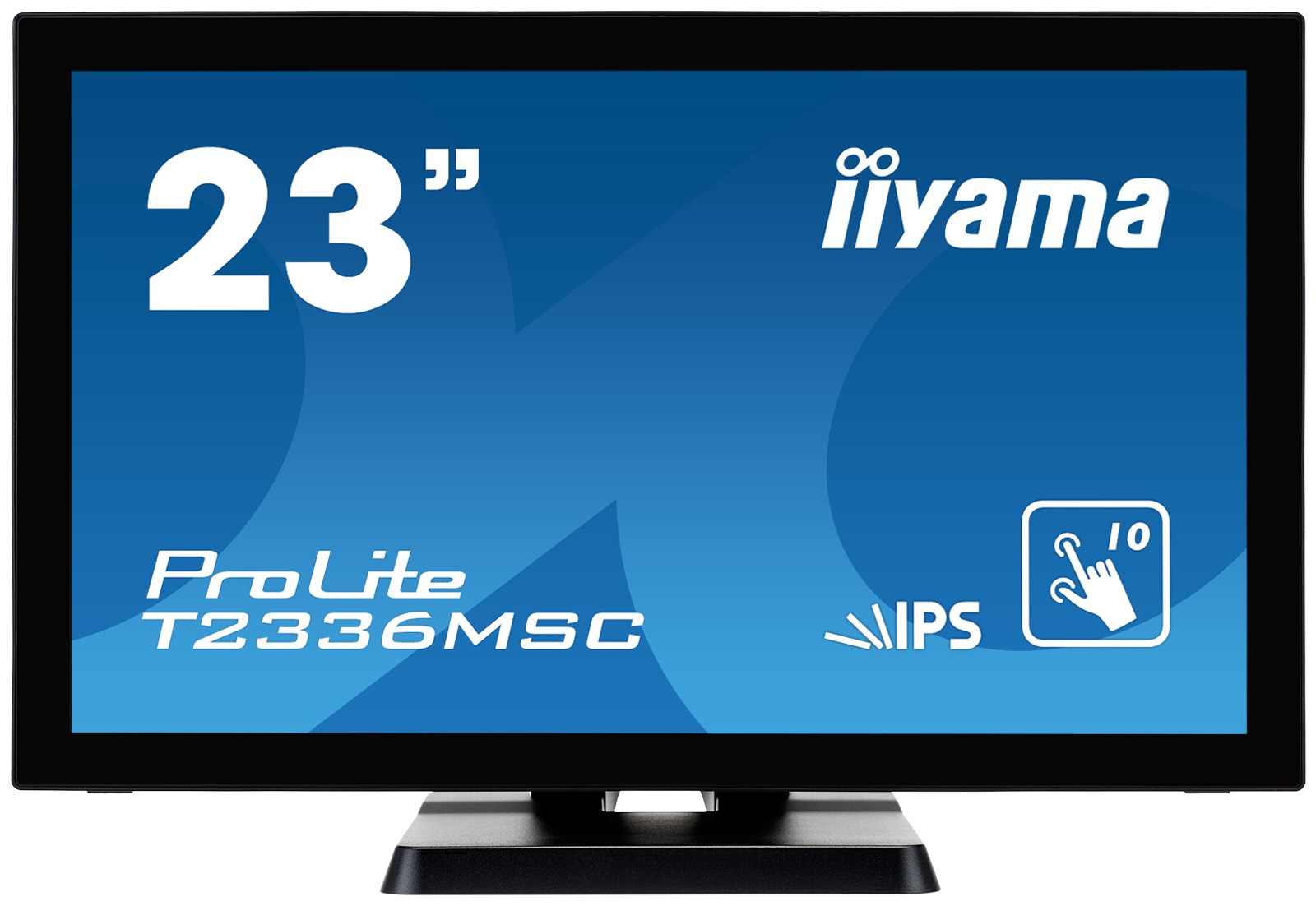 Iiyama t2336msc b2 23 inch led ips touchscreen monitor full hd iiyama t2336msc b2 23 full hd touchscreen monitor fandeluxe Gallery