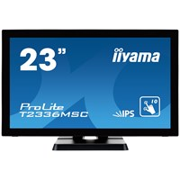 iiyama T2336MSC-B2 23 inch LED IPS - Full HD, 5ms, Speakers, HDMI