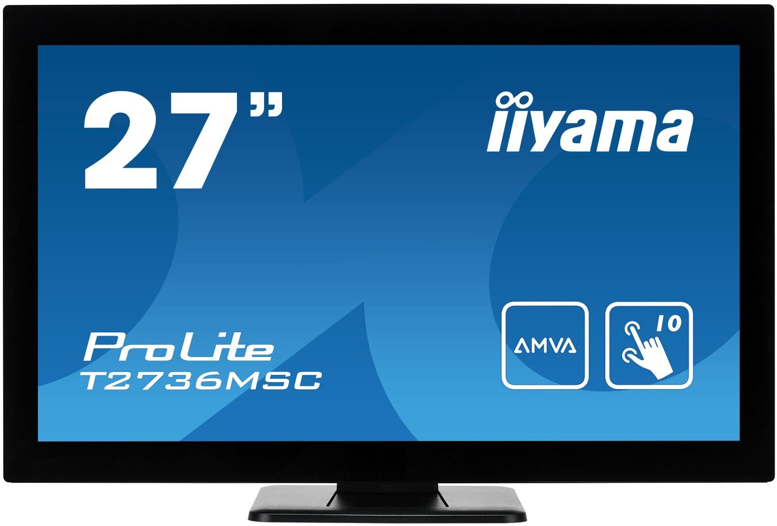 iiyama ProLite T2736MSC 27 inch LED - Full HD, 4ms, Speakers, HDMI ...
