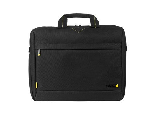 Techair 1202 Toploading Modern Classic Laptop Bag (Black) for 15 inch - 15.6 inch Laptops