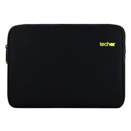 Techair Laptop Sleeve with Yellow Lining for 11.6 inch Laptops