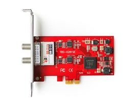 TBS 6281-SE Dual Terrestrial HD Low-profile PCIe TV Tuner Card (DVB-T2)