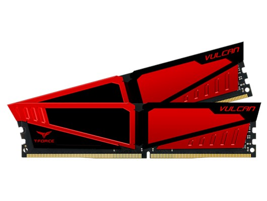 Team Vulcan T-Force 8GB (2x4GB) 3200MHz DDR4 Memory Kit