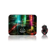Sumvision Nemesis The Neon 2-in-1 Gaming Mouse and Mouse Mat