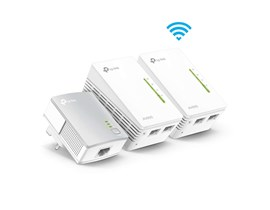 TP-Link TL-WPA4220 KIT v4 AV600 WiFi 3-Pack Powerline Extender Kit - V4