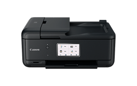 Canon PIXMA TR8550 (A4) Colour Inkjet Multifunction Printer (Print/Copy/Scan/Fax) 10.8cm LCD Touchscreen 15.0ipm (Mono) 10.0ipm (Colour) 37 sec (Photo) - Black