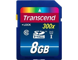 Transcend Premium 8GB UHS-1 (U1) SD Card