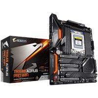 Gigabyte TRX40 AORUS PRO WIFI ATX Motherboard for AMD TRX4 CPUs