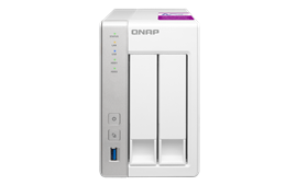 Qnap TS-231P2-1G 2-Bay NAS Enclosure