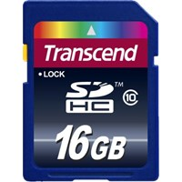 Transcend (16GB) Class 10 High-Capacity Secure Digital Card