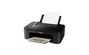 Canon PIXMA TS3150 (A4) Colour Inkjet Multifunction Printer (Print/Copy/Scan/WiFi/Cloud) 12.6cm  LCD 7.7ipm (Mono) 4ipm (Colour) - Black
